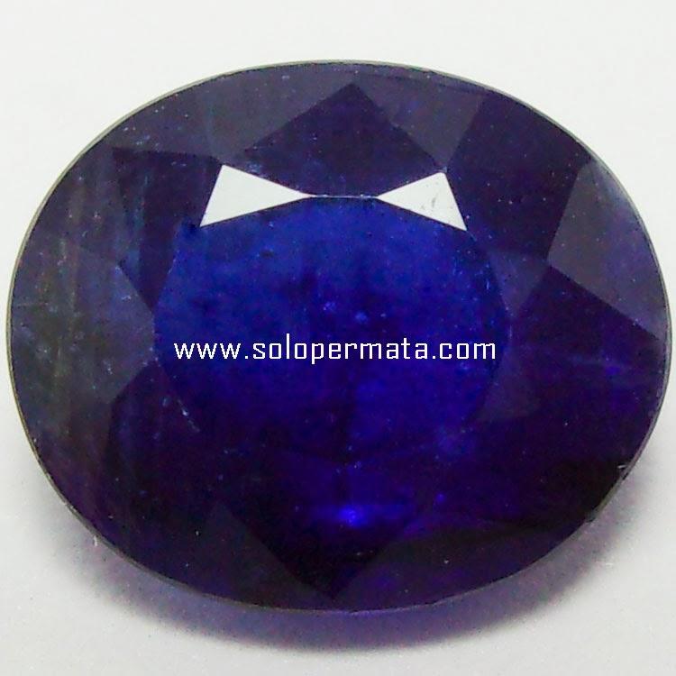 Batu Permata Blue Sapphire Ceylon - 24A04
