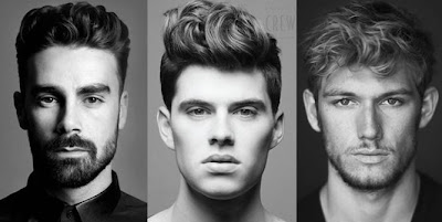 Model Rambut Cowok Wavy Hairstyle for Men