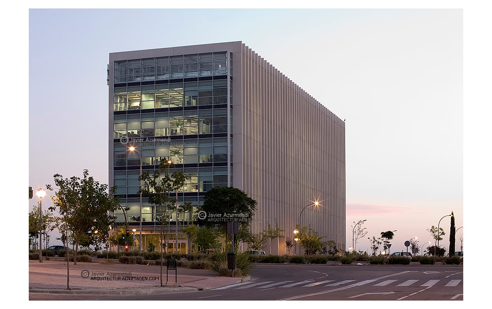 Javier azurmendi fotograf a de arquitectura for Oficinas centrales mercadona madrid