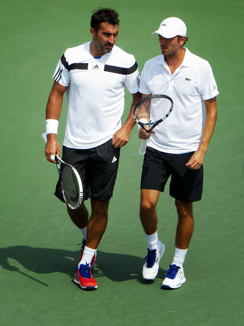 Benneteau Zimonjic 2013 US Open