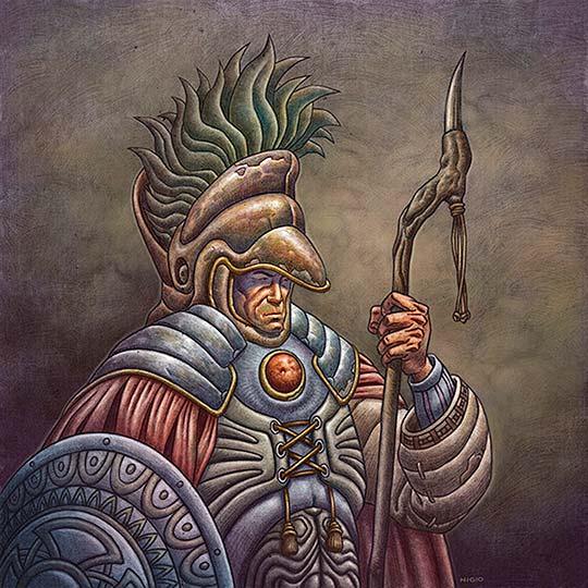 Ilustración de Giovanni Castro - Nigio