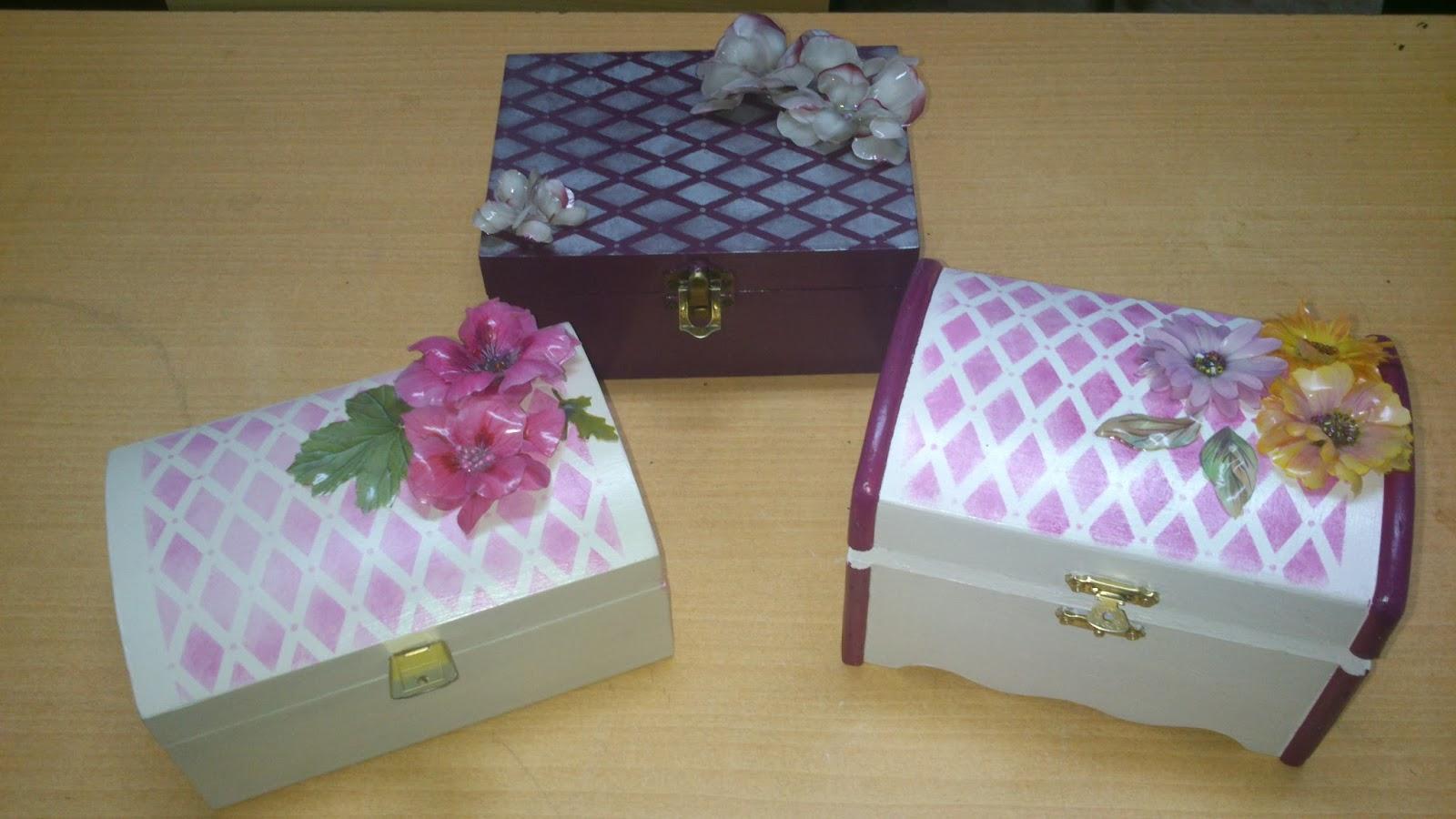 Las manualidades de carmen cajas decoradas con sospeso - Manualidades cajas decoradas ...