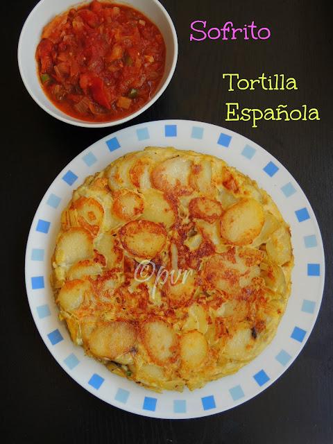 Spanish Tortilla, SpanishTomato Sauce