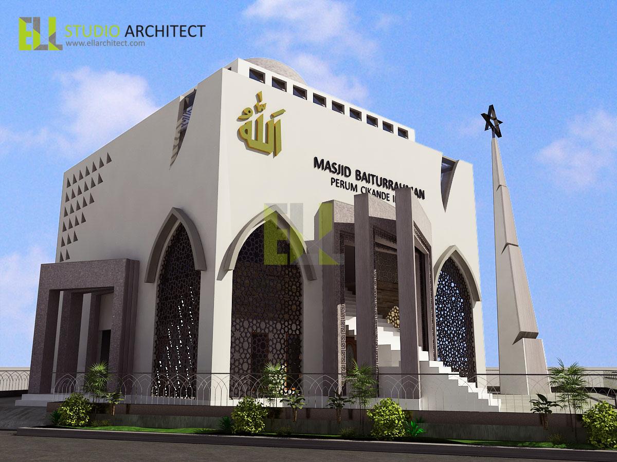 Cv Grc Karya Cipta Mandiri 10 Contoh Desain Masjid Minimalis Modern