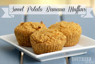 Sweet Potato Banana Quinoa Muffins - Healthy, Gluten Free, Low Fat, Vegan