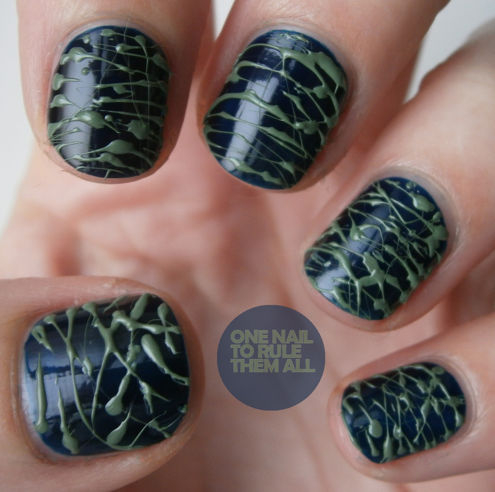 One Nail To Rule Them All Spun Sugar Nails