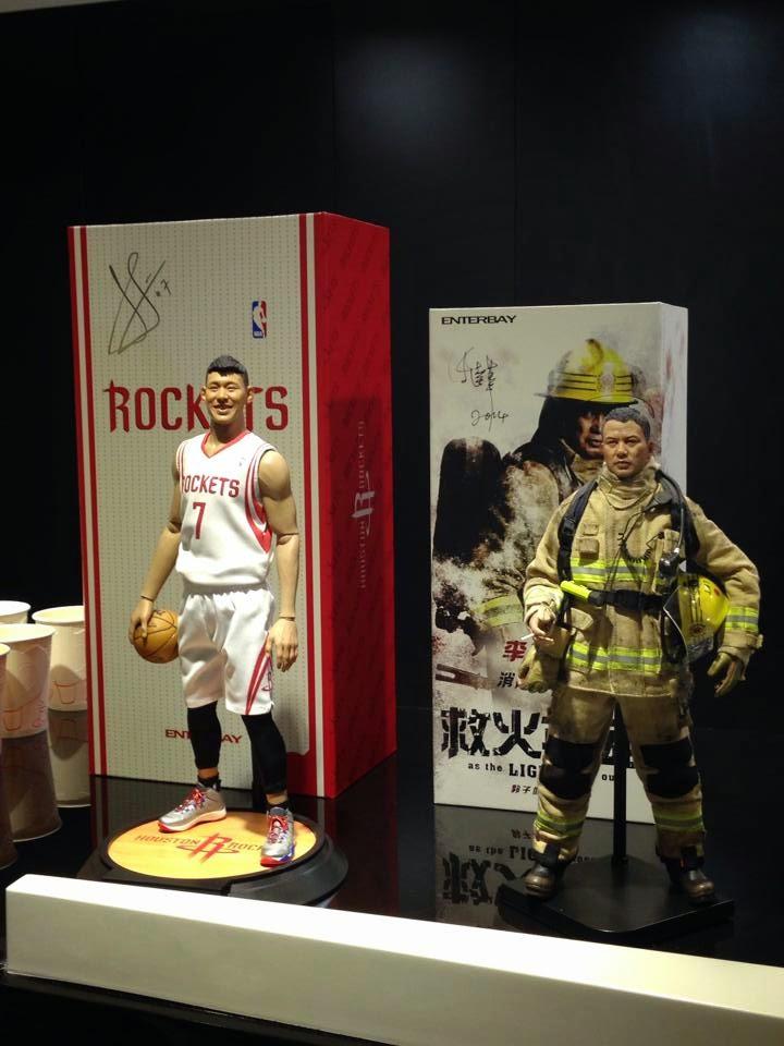 [Enterbay] NBA Series: Jeremy Lin (Houston Rockets) Eb1