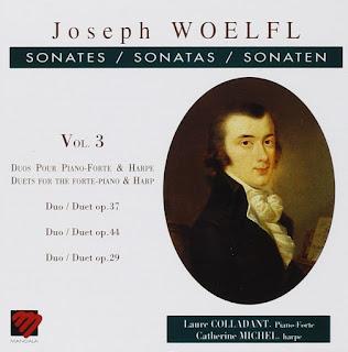 Sonate: Duo opp.29, 44 e 29 per pianoforte e arpe - Woelfl Vol.3