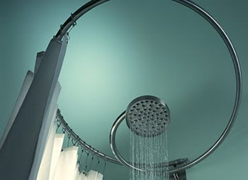 SHOWER CURTAIN RAILS - Bathroom Accessories