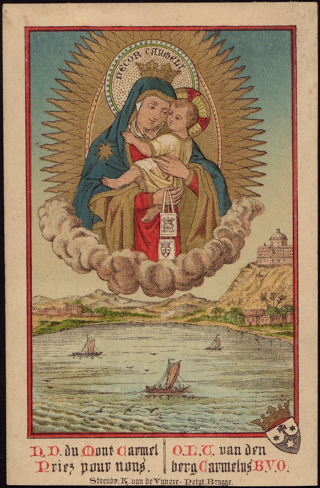 Nostra Signora del Monte Carmelo prega per noi dans immagini sacre Our+Lady+of+Mount+Carmel+-+Brugge