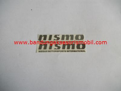 Emblem Alumunium 3M Kecil 2 Pcs Nismo
