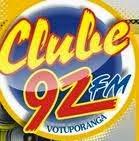 ouvir a Rádio Clube FM 92,1 Votuporanga SP