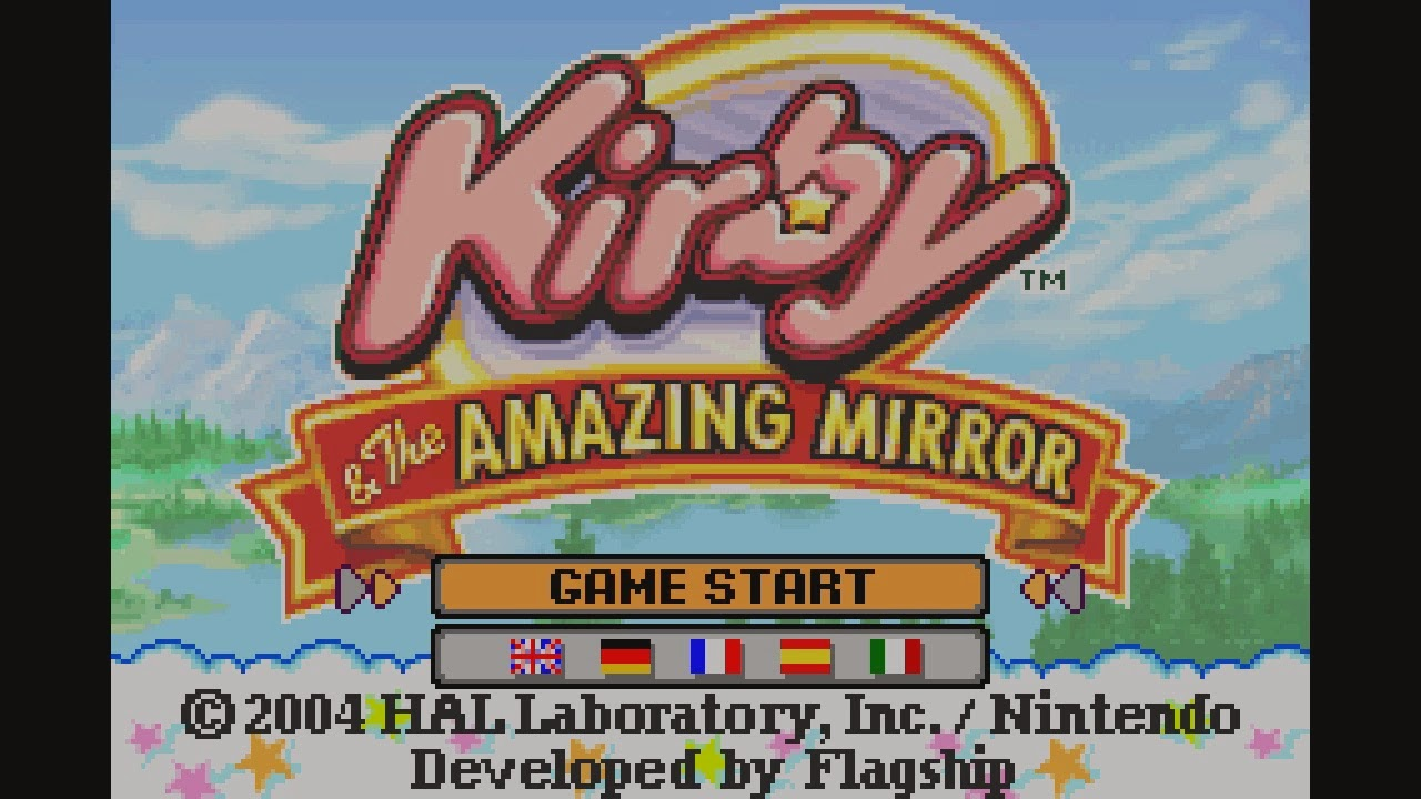 I titoli per game boy advance arrivano sulla virtual console di wii u dalla prossima settimana - Kirby e il labirinto degli specchi ...