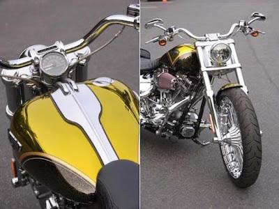Harley-Davidson 2013 Breakout CVO comemorativa 110º aniversário