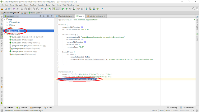 Add External Jounce Every Minute Library Inward Android Studio, Org.Apache.Http