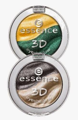 Sombras de ojos essence 3D eyeshadow