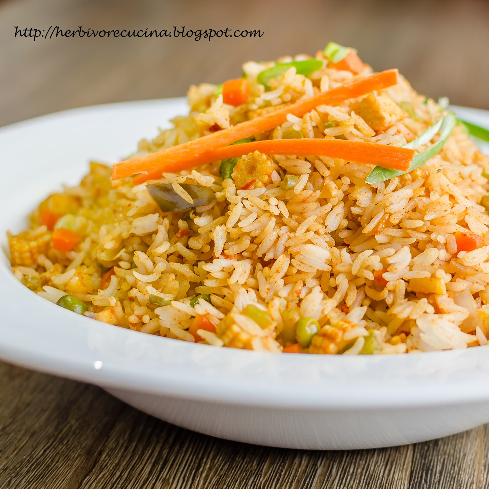Herbivore Cucina Spicy Basil Fried Rice