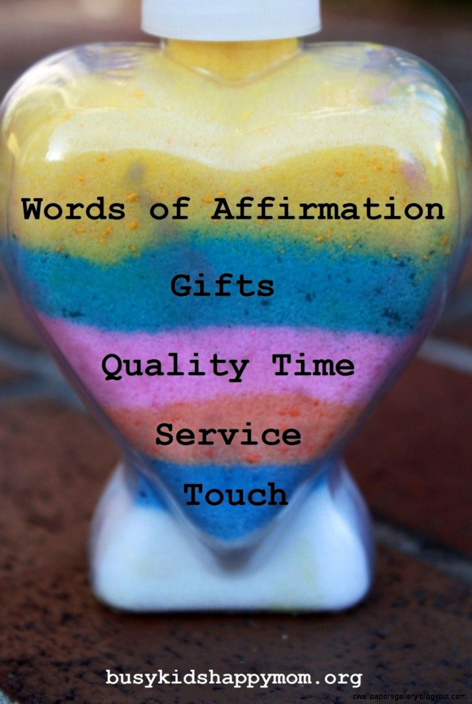 Five Love Languages Words of Affirmation   Busy Kids Happy Mom