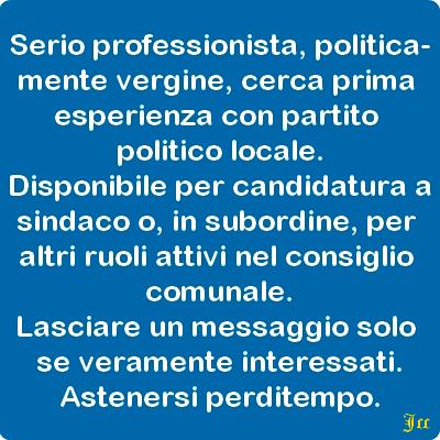 Siena: un nuovo candidato