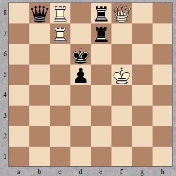 Шахматная композиция Владимира Набокова № 1 1932