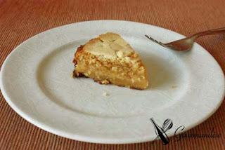 Gourmandise Bolo Caprese de amêndoa, siciliano e chocolate branco