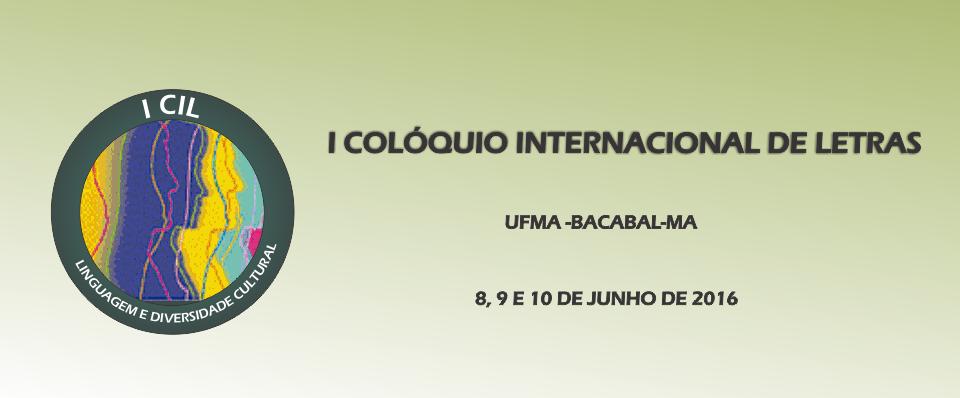 I CIL UFMA - Campus Bacabal