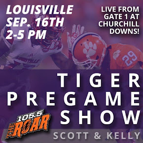 The Tiger Pregame Show Can Be Heard Exclusively On WCCP 105.5 FM and wccpfm.com