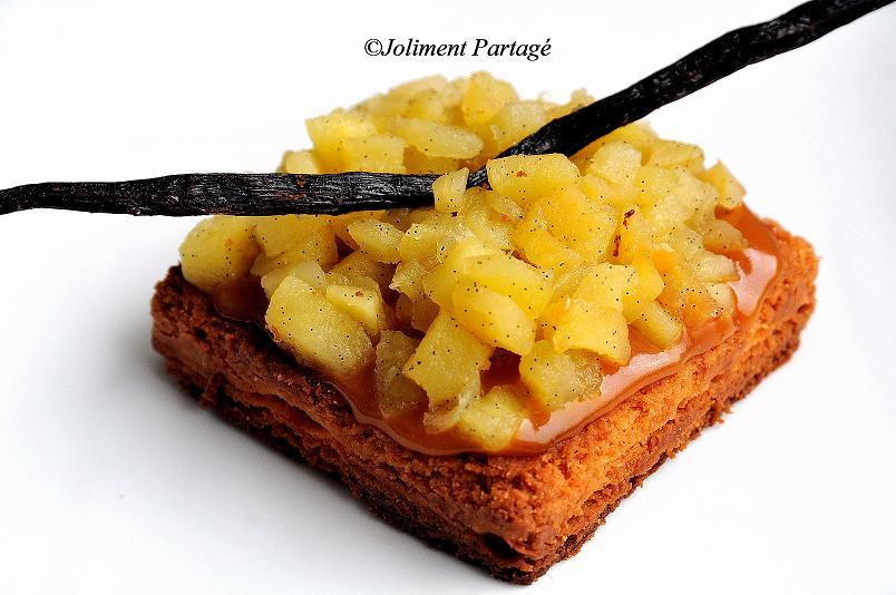 joliment partage par c 233 line tarte aux pommes caramel beurre sal 233