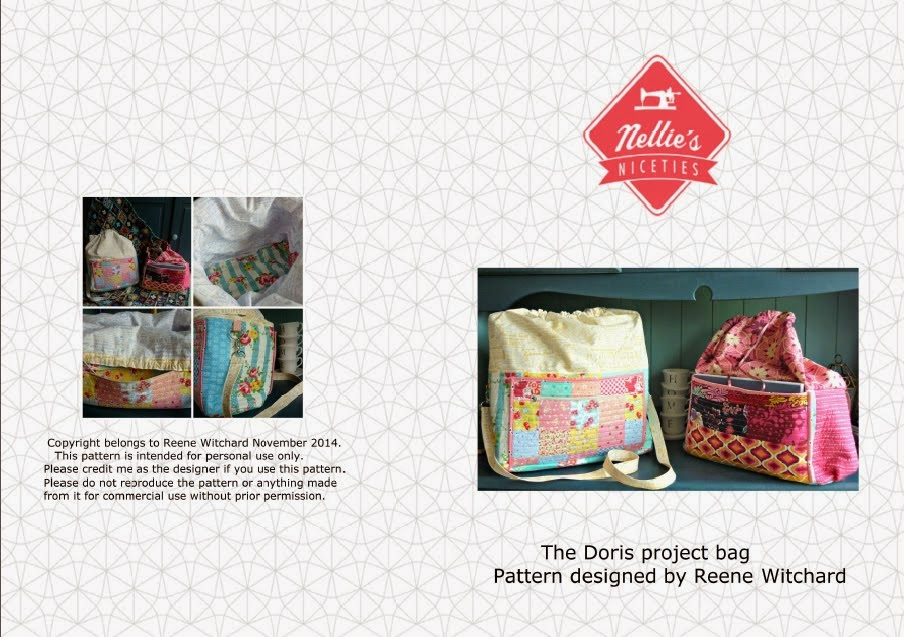 Doris project bag pattern