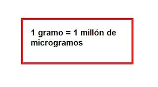 Equivalencias para micro