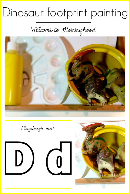 Tot Labs presents: letter of the Week: letter Dd activities and printables by Welcome to Mommyhood and Mumma Diaries #preschoolactivities, #letteroftheweek, #montessori, #preschool, #montessoriactivities, #totlabs