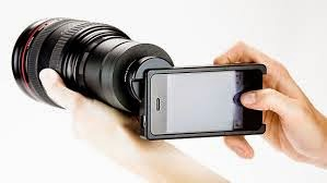 smartphone with profesional Camera