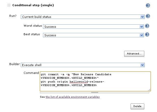 jenkins environment variables plugin sample