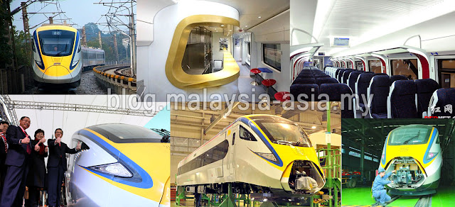 Malaysia New ETS Electric Train