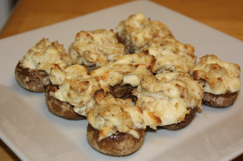 mouthwatering stuffed mushrooms recipe allrecipescom - 800×533