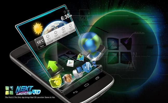 Next Launcher 3D apk - Screenshoot