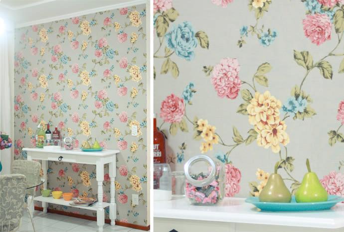 Blog da Arquiteta Tecido na parede dicas de aplicação -> Decoracao De Banheiro Com Tecido Na Parede