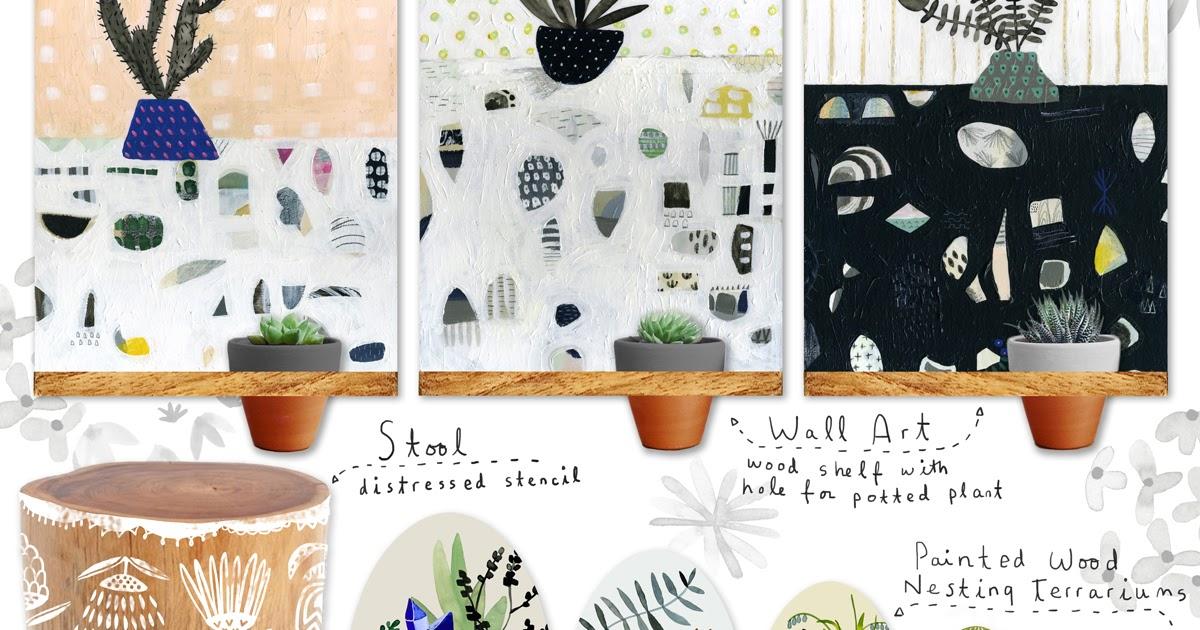 Make art that sells home decor