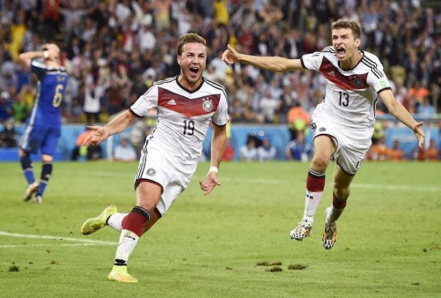 德國勇奪2014世界盃冠軍,獎項得主與進球數統計出爐!
