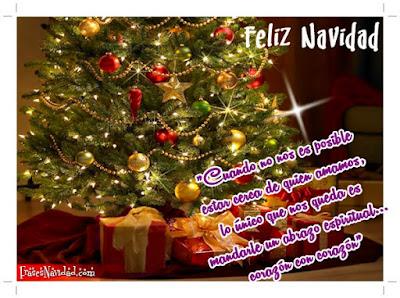 Hermosos mensajes de feliz navidad para mi familia