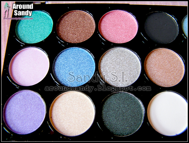 MUA - 24 Shade Immaculate Collection Palette review opinión swatches dónde comprar buy