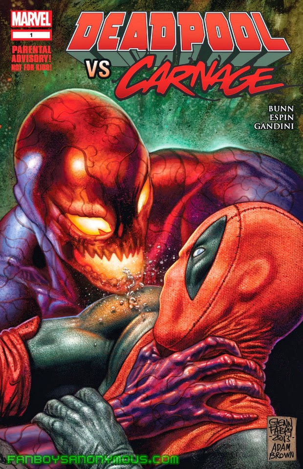 Download Deadpool vs Carnage comics on Comixology