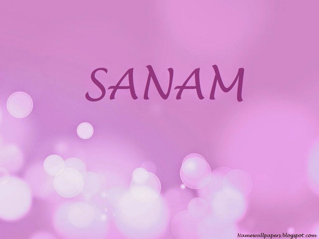 Sanam Name Wallpaper Wallpapers