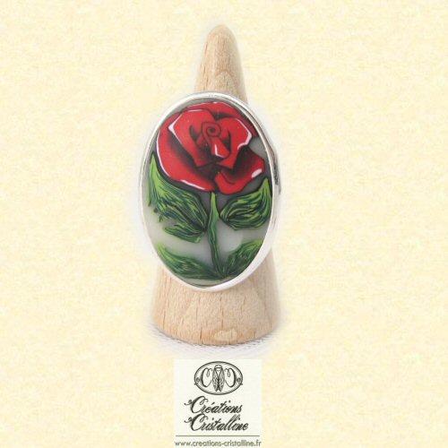 fimo cristalline tuto et bijoux en polym re offrir une rose. Black Bedroom Furniture Sets. Home Design Ideas