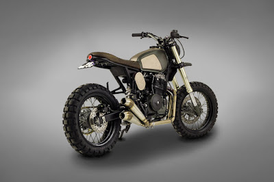 Honda NX 650 Scrambler Muxima by Ton Up Garage