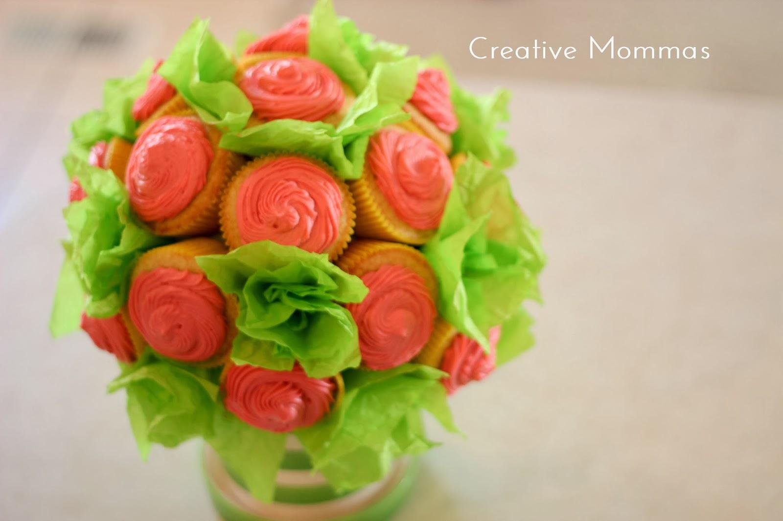 Creative Mommas Cupcake Bouquet Tutorial