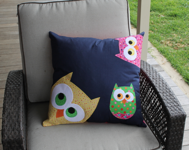 Free Owl Template Owl Cushion Pattern Free