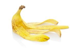 banana peels mole removal