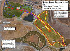 Chambers Properties XC Course Map