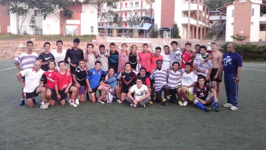 L'équipe du Lycée Français de Tananarive